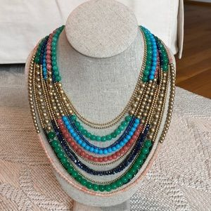 Stella & Dot Zaharia Bib necklace